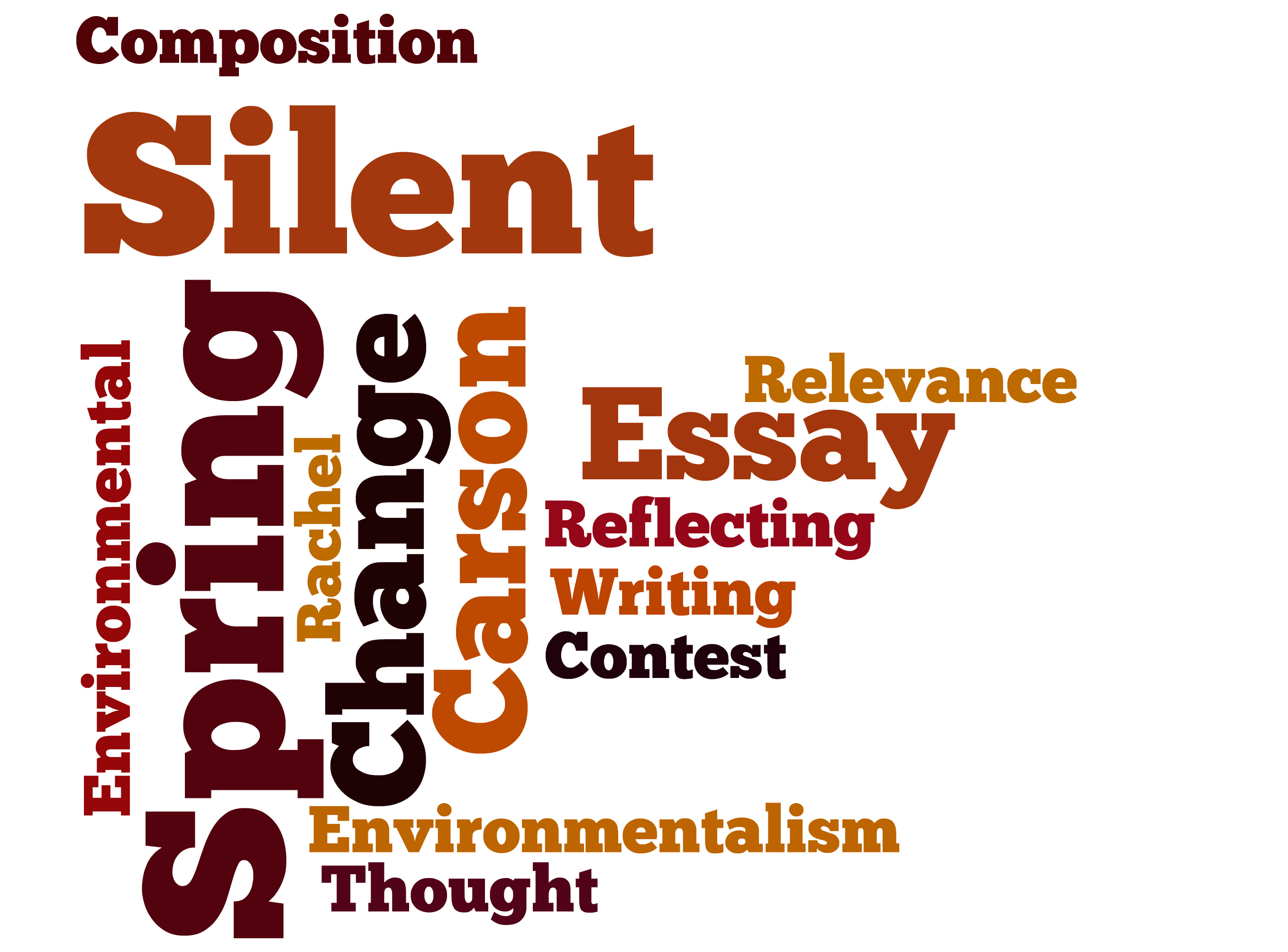 silent spring essay questions Topic: silent spring paper details: rachel carson has been called the founder of the us environmental movement after you have read chapters 1 - 3 in her.