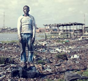 Power of Waste, Agbogbloshie, Kevin McElvaney, Accra e-waste